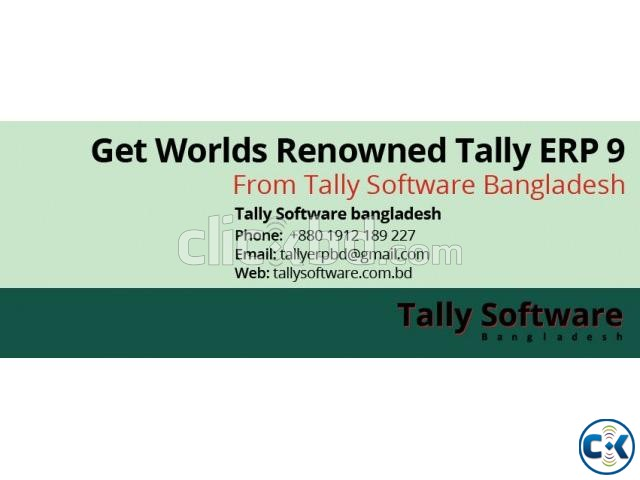 Tally.ERP 9 Accounting Inventory and Payroll Software | ClickBD large image 0