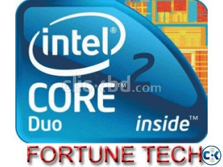 CORE 2 DUO 2.66 GHZ WITH 3 YEAR EXCHANGE LESS 33