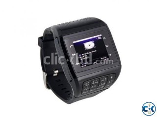 Q3 Black GSM watch mobile phone