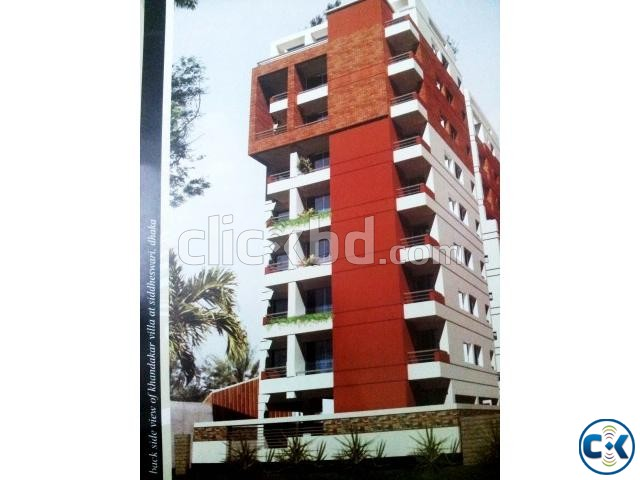 Khondoker Villa Flat for sale at Shiddeswari | ClickBD large image 1