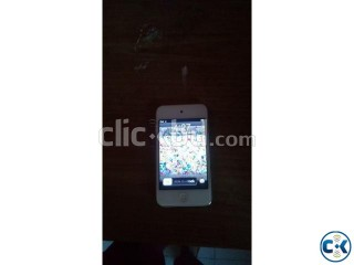 Almost new iPod 4 white in cheap price
