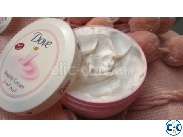 Dove facial product can