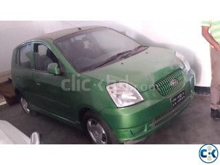 2004 kia picanto green color 1100 cc MT allpower
