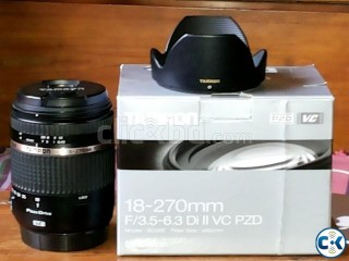 Tamron 18-270 Di II VC PZD Lens for Canon Mount
