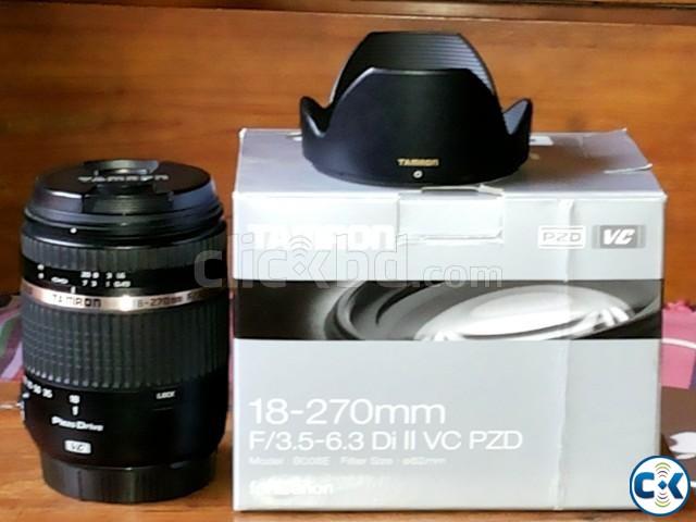 Tamron 18-270 Di II VC PZD Lens for Canon Mount | ClickBD
