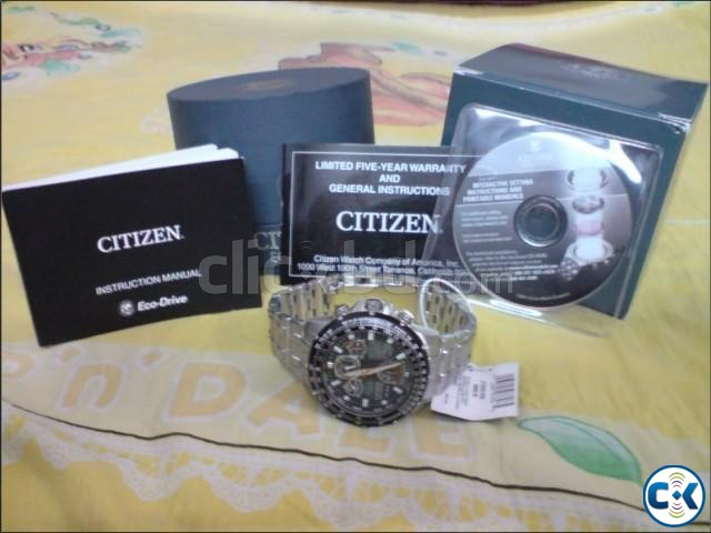 Citizen Eco Drive Skyhawk A T Watch Model JY0000 53E | ClickBD large image 0