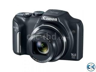 Canon PowerShot SX170 IS 16MP 16x Zoom HD Camera