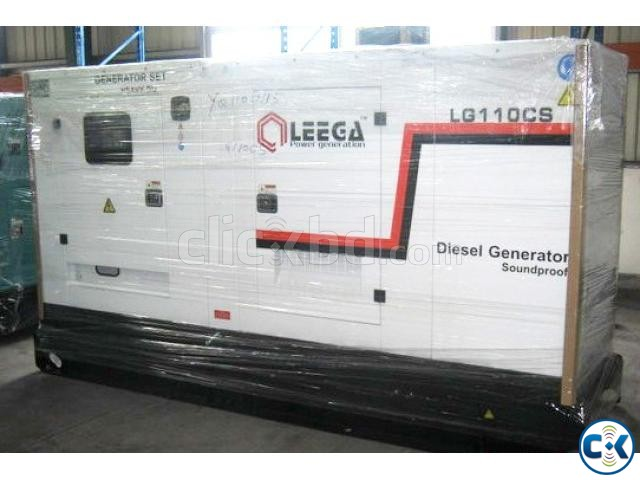 LG110CS Soundproof type Diesel Generator | ClickBD large image 0