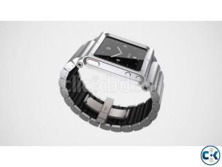 ipod Nano wristBand Lunatik silver