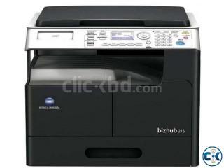 Konica Minolta bizhub 215 Digital Copier Machine