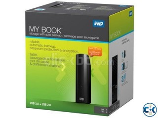 WD My Book 2TB External Drive Storage USB 3 With Backup