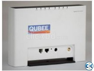 Gigaset Qubee Modem With Router.