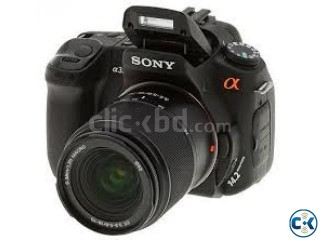 Sony α alpha DSLRA300 with 18 to 70mm wi বিক্রয়