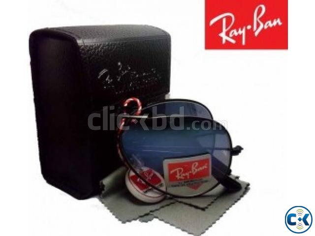 Ray Ban Bottom Green Folding SunGlass Replica  | ClickBD large image 1
