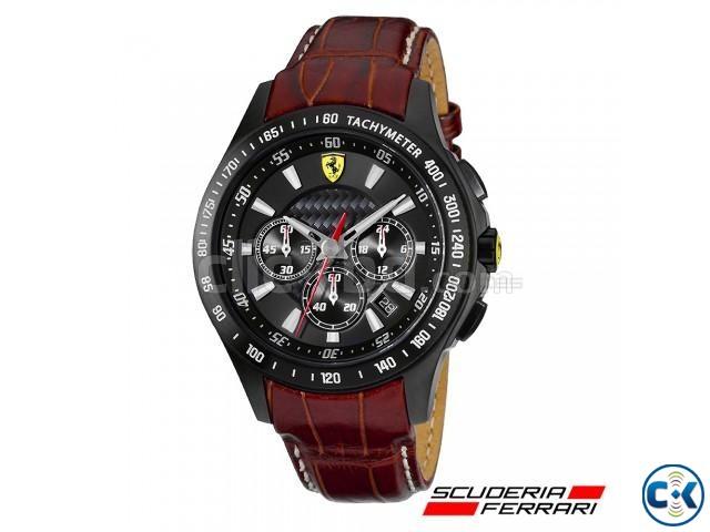 Authentic 2013 Scuderia Ferrari SF105 Chrono Watch | ClickBD large image 0