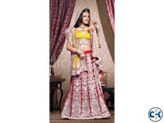 Wedding Bridal Saree Lehengas - www.shivamprints.in