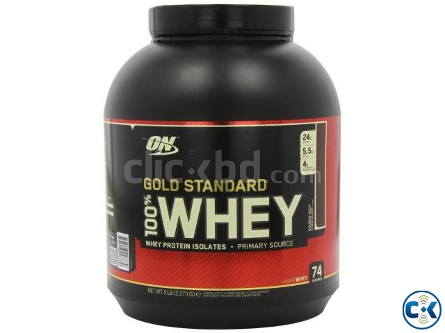 Gold Standard 100 Whey Protein 5 lbs | ClickBD large image 0