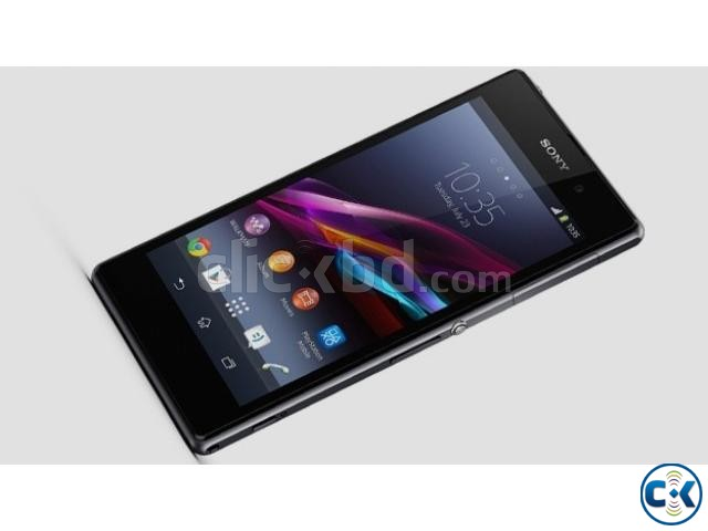 Sony Xperia Z1 LTE With Box accessories   ClickBD large image 0Xperia Z1 White Box