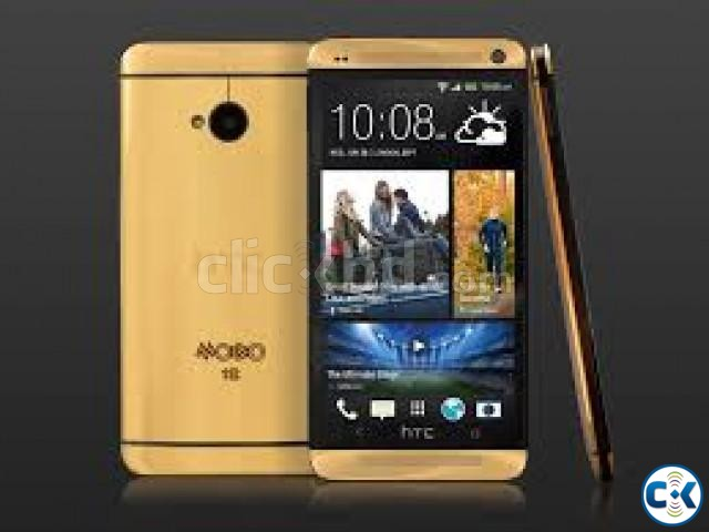 htc one gold | ClickBD large image 0