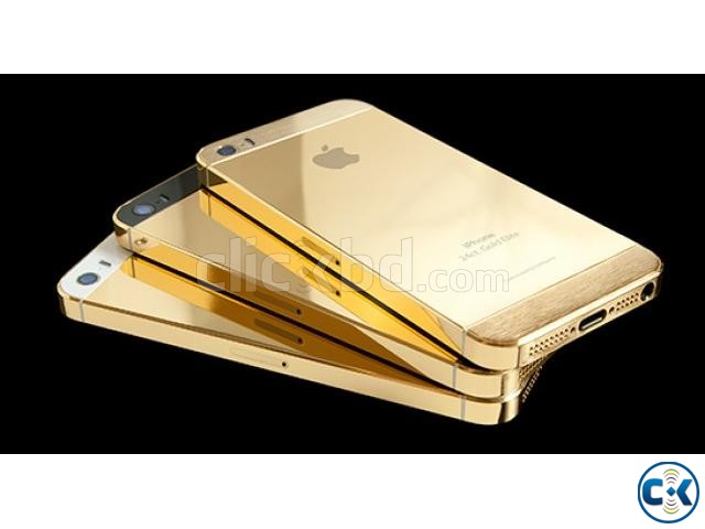 Iphone 5s Gold | ClickBD large image 0