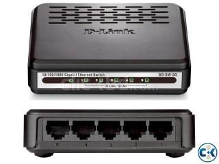 D-Link 5-port Ethernet 10-100 Switch