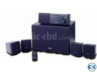 Home Theater Fiber optic supported with DVD Player