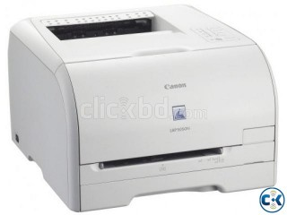 Canon LBP 5050N Color Laser Printer with network