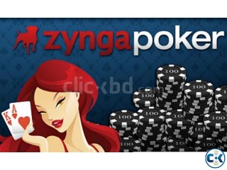Zynga poker chips are available