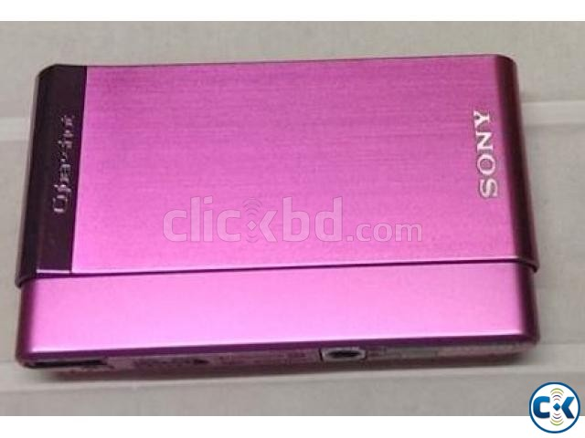 Sony Cyber-shot DSC-T90 12MP Pink Touchscreen | ClickBD large image 0