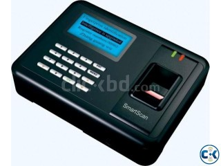 Finger print attendance machine