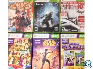 Original Xbox 360 Games NTSC