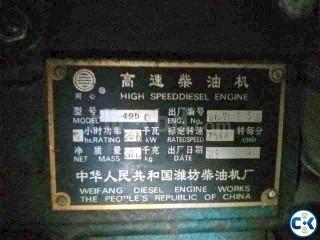 4 cylinder generator