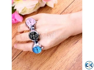 Finger Ring Watch Lady Girl Gift