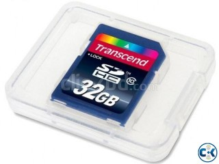 Transcend SDHC class 10 memory card for sell