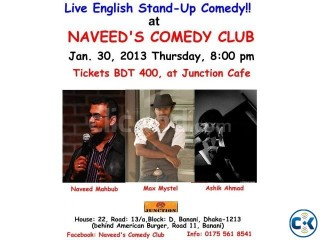 Stand-up Comedy Show at Naveed s Comedy Club