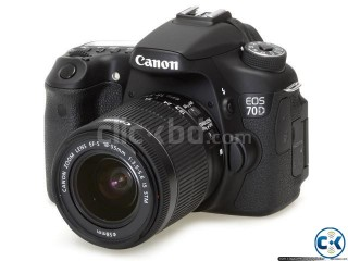 CANON 70D BRAND NEW DLR CAMERA WITH18-200 MM LENS
