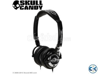 SKULLCANDY LOWRIDER HEADPHONES BLACK