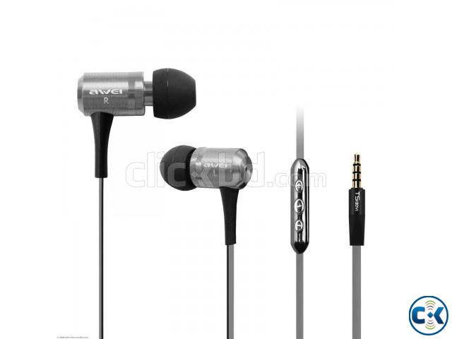 AWEI TS-130VI HIFI EARPHONES WITH REMOTE | ClickBD large image 0