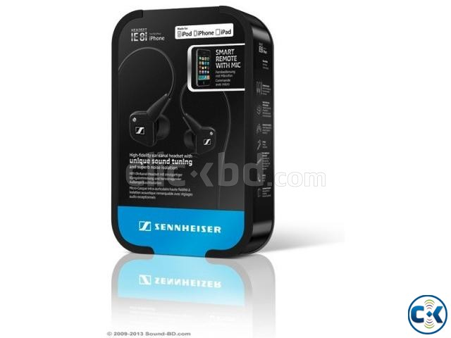 BRAND NEW SENNHEISER IE 8I HEADPHONES | ClickBD large image 2