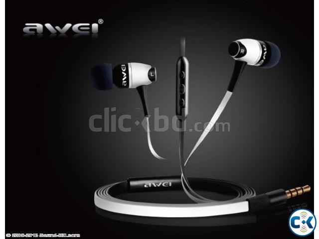 NEW AWEI S80VI REMOTE CONTROL MIC EARPHONE. | ClickBD large image 1