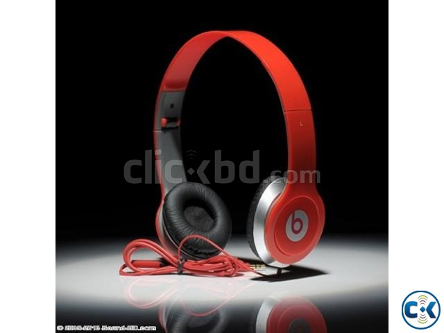 RED BEATS BY DRE SOLO HD | ClickBD large image 0