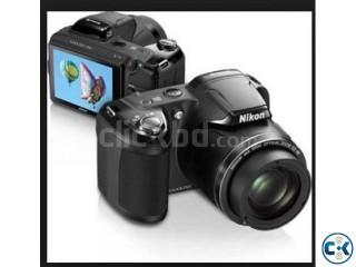 Nikon COOLPIX L810 Compact Digital Camera - Black 16.1MP 2
