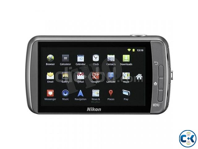 Nikon - Coolpix S800c WiFi Android operating system  | ClickBD large image 0