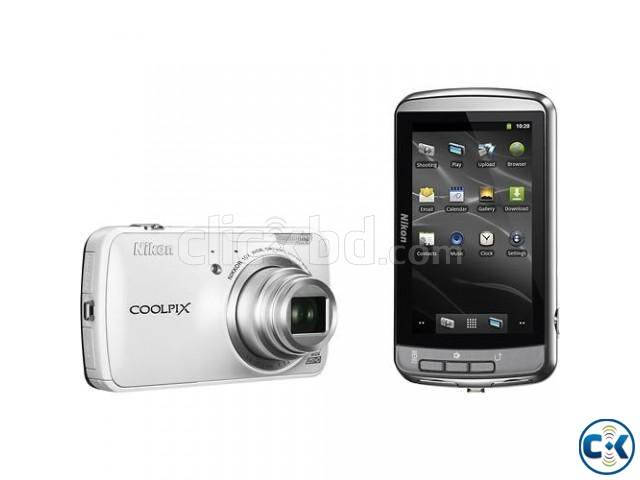 Nikon - Coolpix S800c WiFi Android operating system  | ClickBD large image 2