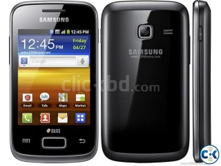 Samsung Y Duos GT S6102 (1 year USED)