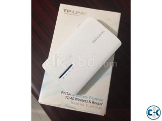 Battery Powered Wireless N Router with 7 months Warranty