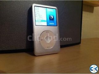 Apple ipod classic 7th generation 120GB silver