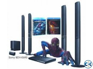 3D Blue ray Home Theater 1000 SONY 3D