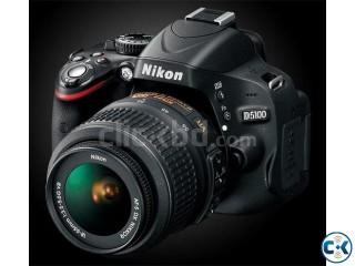 NIKON D5100 CAMERA WITH 18-55VR LENS CAMERA VISION