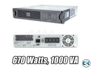 UPS 1000va 2U Rac 48V DC Without Battery.
